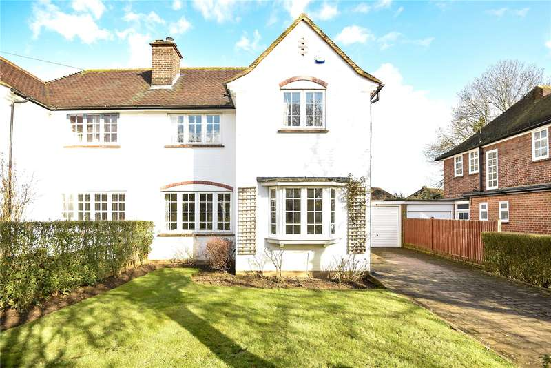 3 Bedrooms Semi Detached House for sale in Hallam Gardens, Pinner, HA5