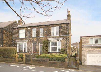 3 Bedrooms Semi Detached House for sale in Norfolk Hill, Grenoside, Sheffield, South Yorkshire