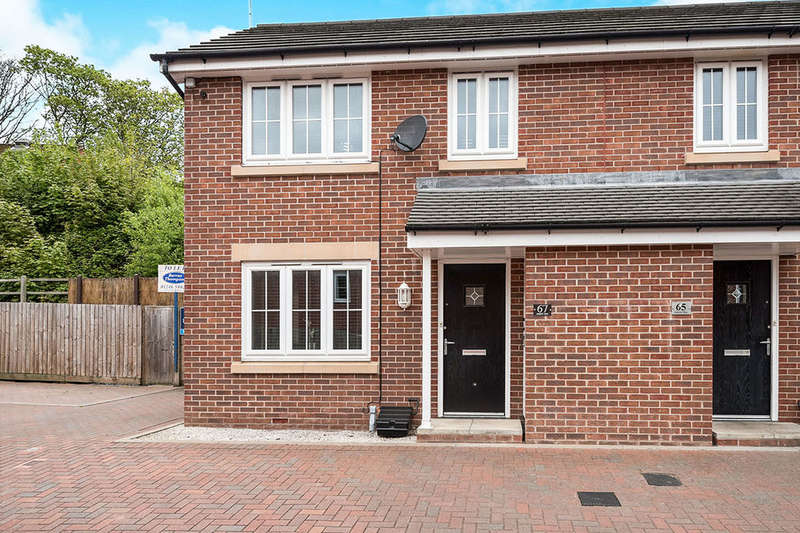 2 Bedrooms Semi Detached House for rent in Askew Way, Chesterfield, S40