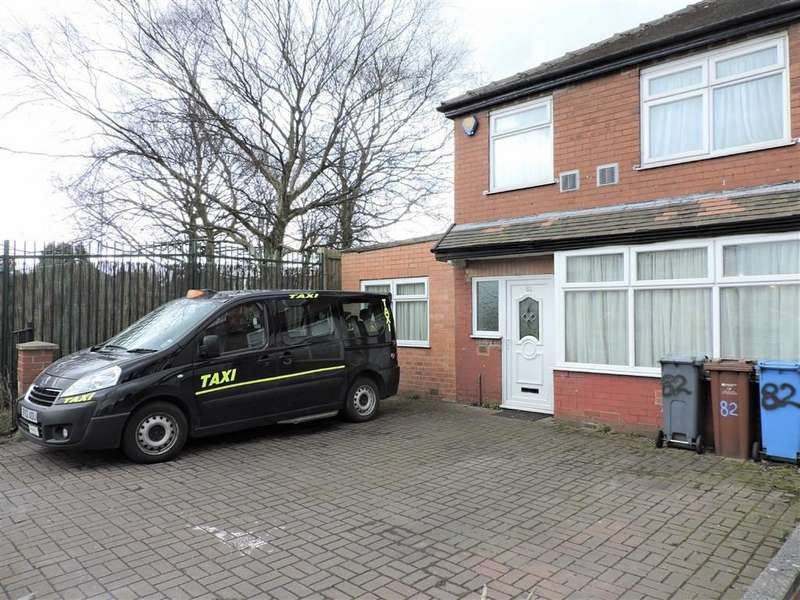 3 Bedrooms End Of Terrace House for sale in Kirkmanshulme Lane, Longsight, Greater Manchester