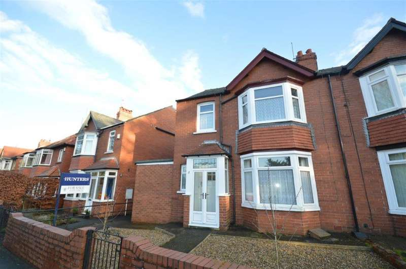 3 Bedrooms Semi Detached House for sale in Peasholm Drive, Scarborough, YO12 7NA