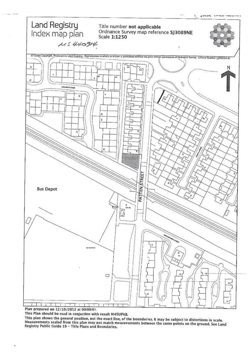 Land Commercial for sale in Land Plot, Patten Street, Birkenhead