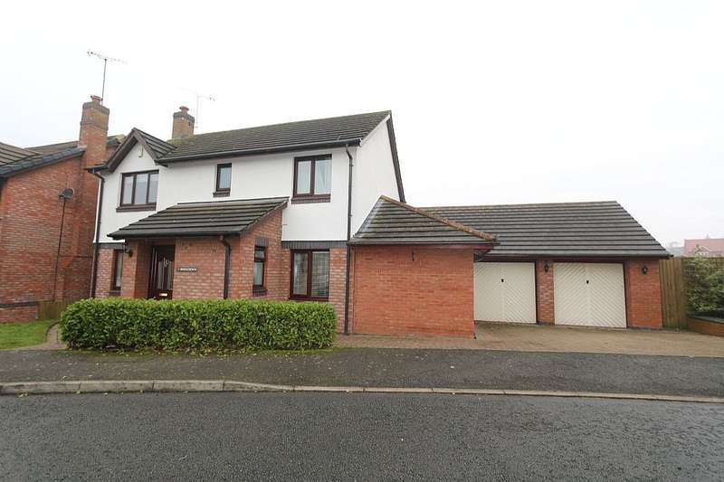 4 Bedrooms Detached House for sale in Bridgedown, Tarporley, Cheshire, CW6 9XB