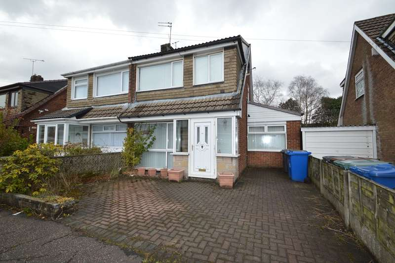 3 Bedrooms Semi Detached House for rent in Nuttall Avenue, Whitefield, Manchester, M45