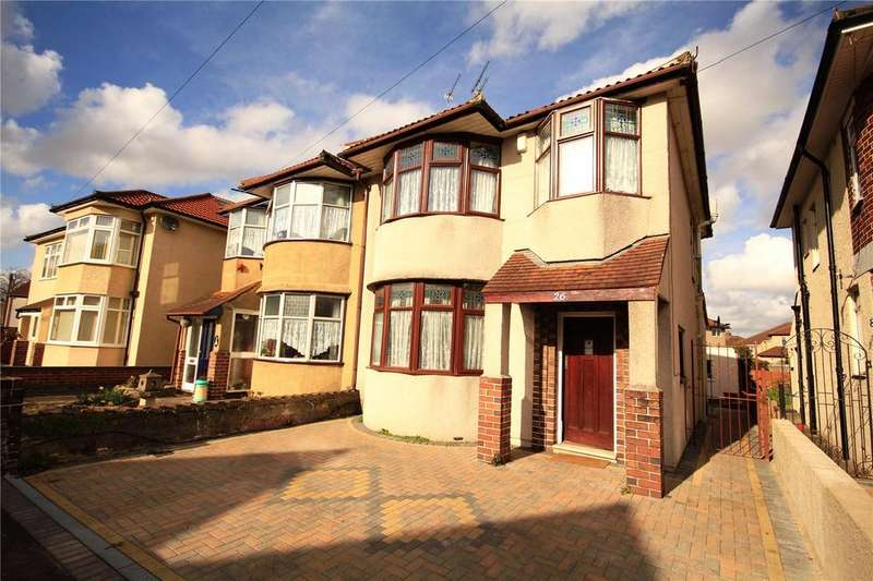 3 Bedrooms Semi Detached House for sale in Oldbury Court Road, Oldbury Court, Fishponds, Bristol, BS16