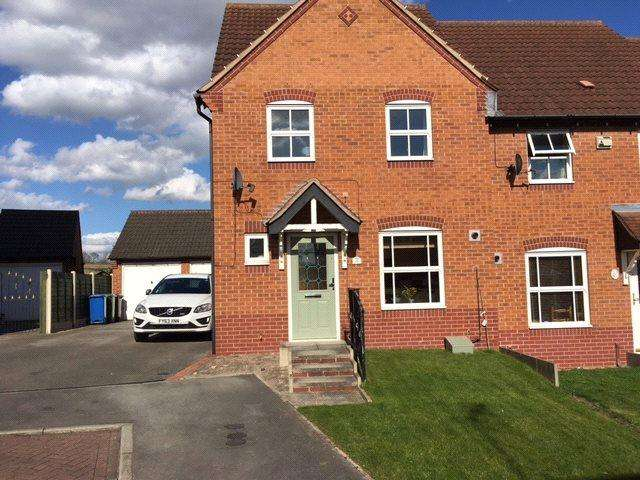 3 Bedrooms Terraced House for rent in Primrose Court, Mansfield Woodhouse, Nottinghamshire, NG19