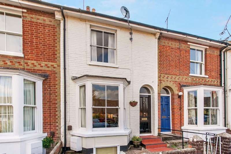 4 Bedrooms Terraced House for sale in Greenhill Road, Fulflood, Winchester, SO22