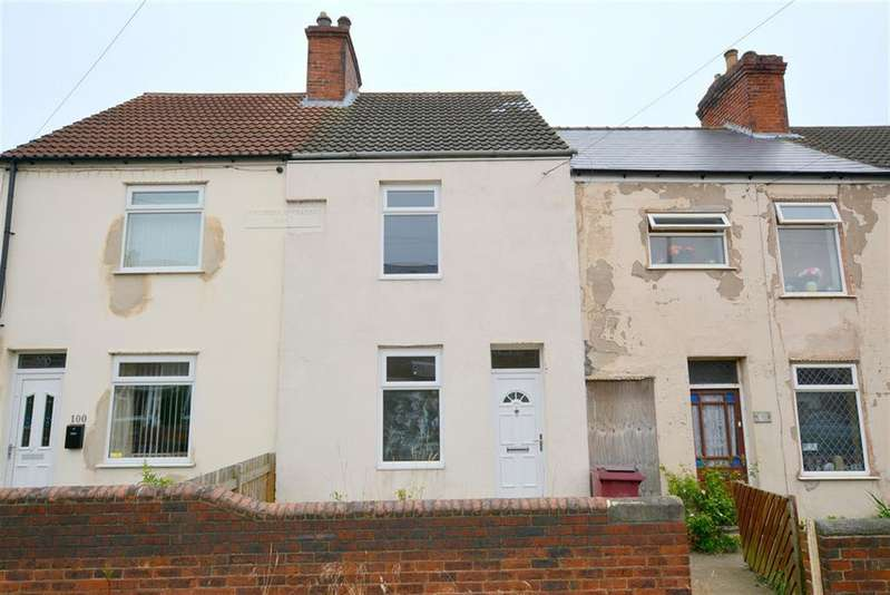 2 Bedrooms Terraced House for rent in Chesterfield Road, Shuttlewood, Chesterfield, S44 6QN
