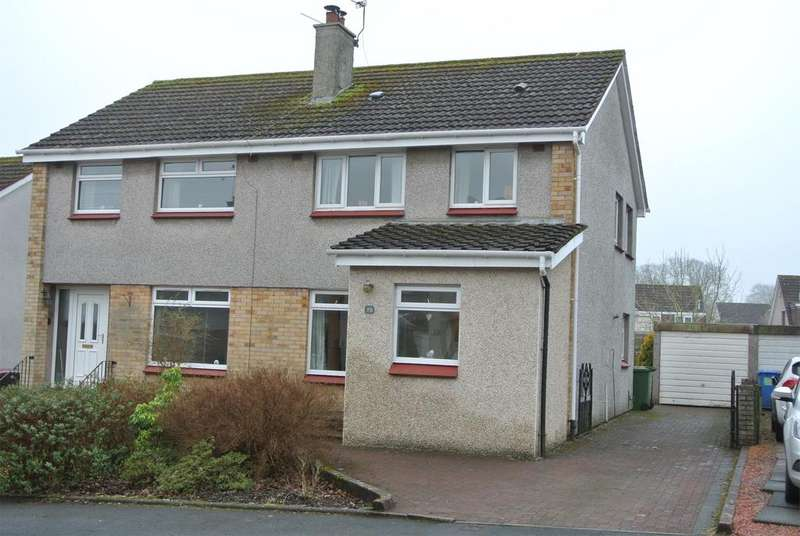 3 Bedrooms Semi Detached House for sale in 70 Rokeby Crescent, Strathaven, ML10 6EG
