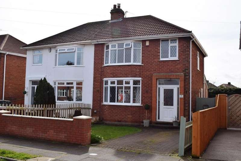 3 Bedrooms Semi Detached House for sale in Boundary Road, Scartho, Grimsby, DN33 3BE