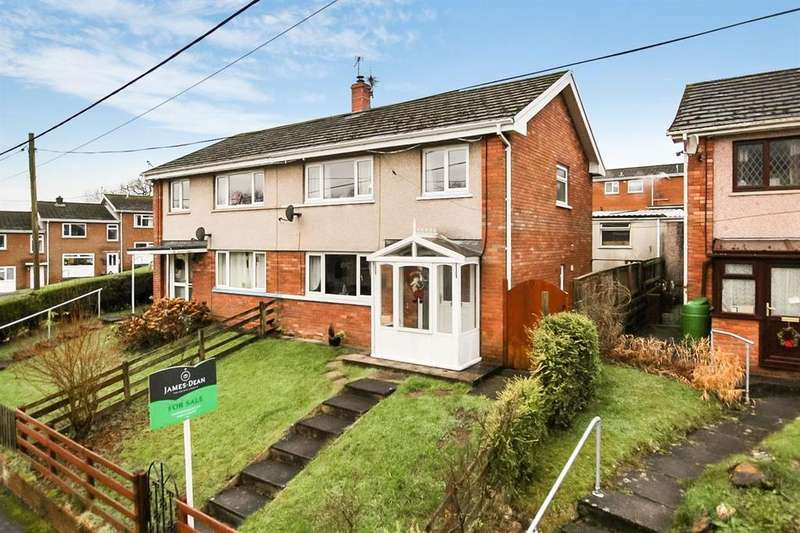 3 Bedrooms Semi Detached House for sale in Brodawel, Llanwrda
