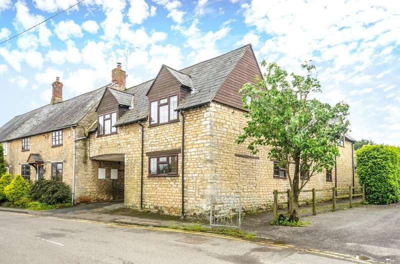 4 Bedrooms Semi Detached House for sale in Stocks Hill, Silverstone, Towcester, Northamptonshire, NN12