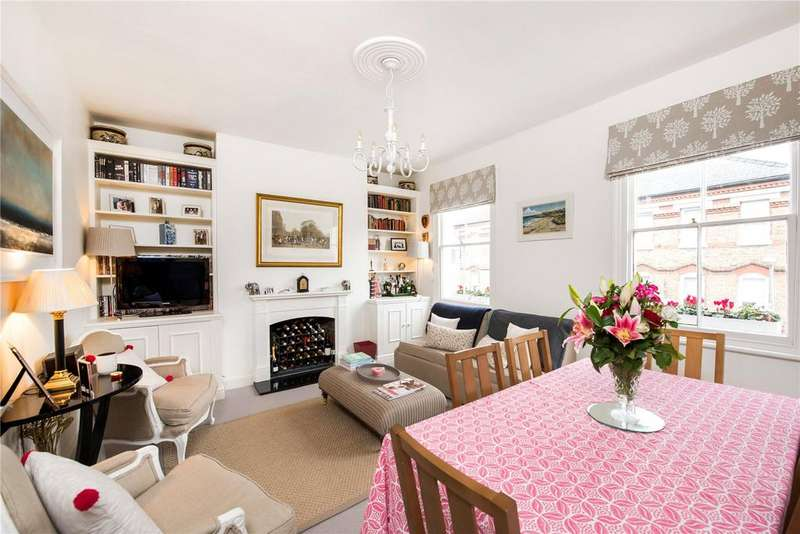 2 Bedrooms Maisonette Flat for sale in St. Ann's Hill, Wandsworth, London, SW18