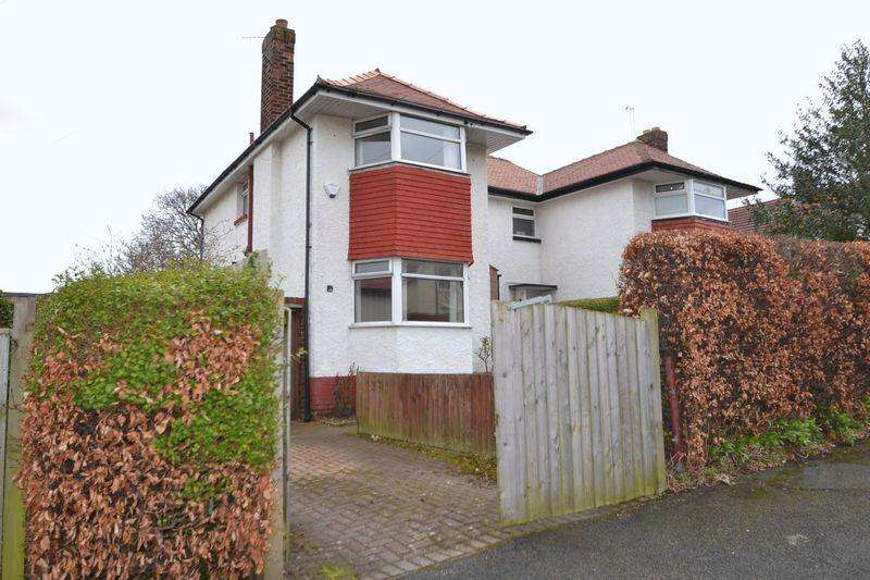 3 Bedrooms Semi Detached House for sale in Gresford Avenue, West Kirby