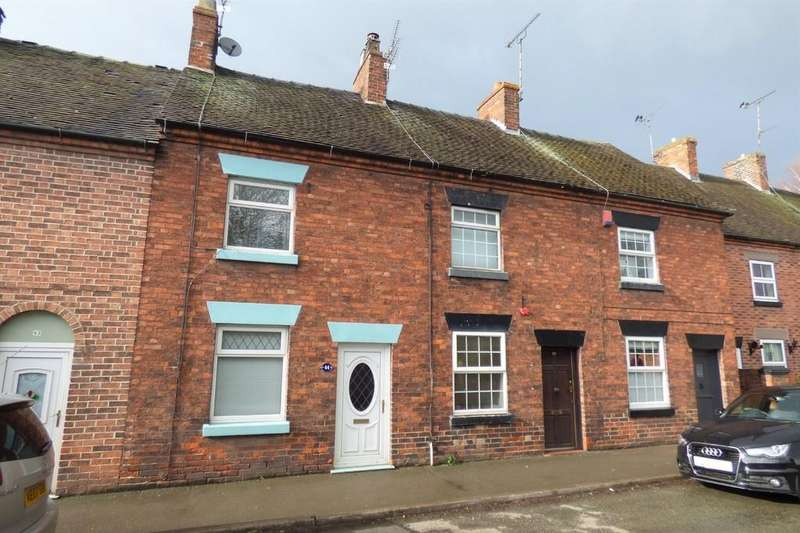 2 Bedrooms Terraced House for sale in High Street, Rocester