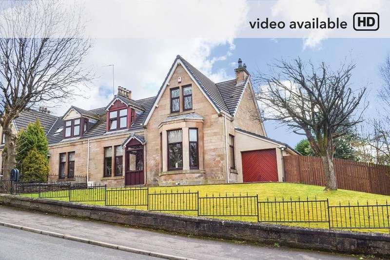 4 Bedrooms Semi-detached Villa House for sale in Mansionhouse Road , Mount Vernon, Glasgow, G32 0RP