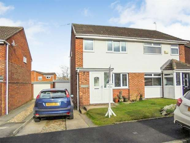 3 Bedrooms Semi Detached House for sale in Hazelmere, Spennymoor, Durham