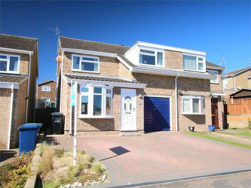 3 Bedrooms Semi Detached House for sale in Eaton Ford, ST NEOTS