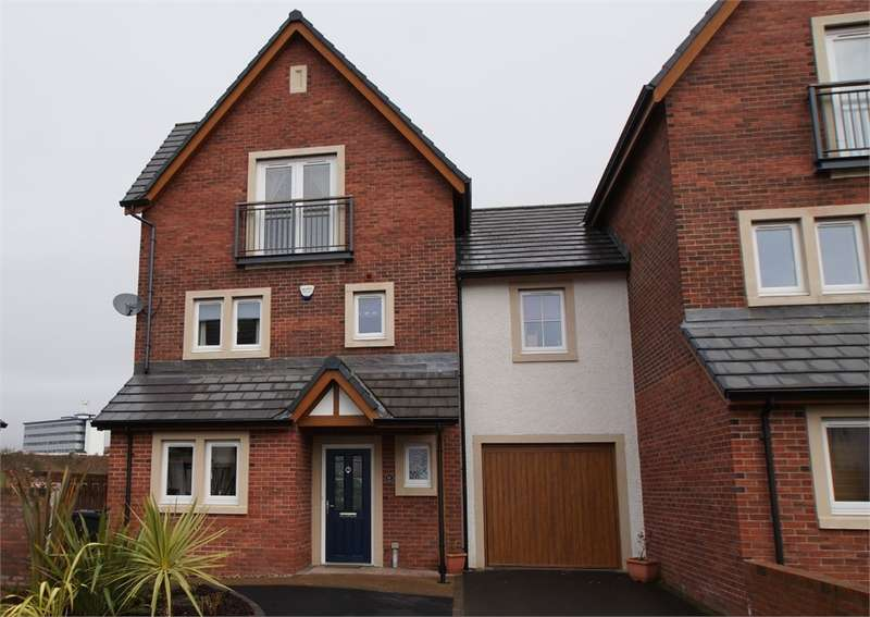 4 Bedrooms Town House for sale in CA1 2FE Johnston Drive, Off London Road, Carlisle, Cumbria