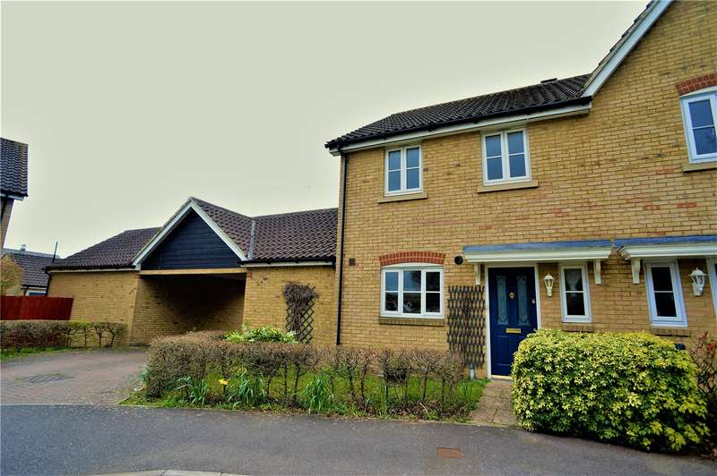 3 Bedrooms Semi Detached House for sale in Galleon Way, Upnor, Rochester, Kent, ME2