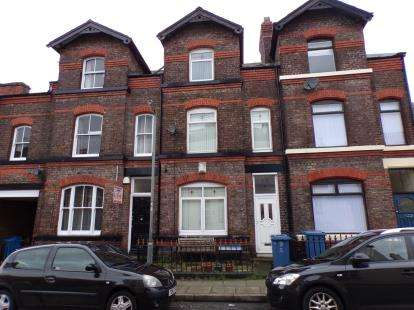 4 Bedrooms Terraced House for sale in Sandown Lane, Wavertree, Liverpool, Merseyside, L15