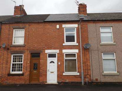 2 Bedrooms Terraced House for sale in Claremont Avenue, Hucknall, Nottingham