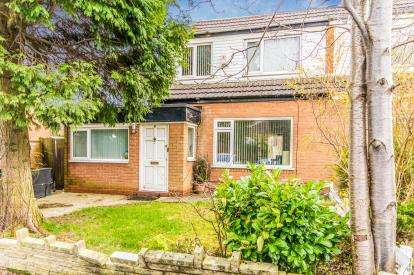 4 Bedrooms Semi Detached House for sale in Mere Close, Dane Bank, Denton, Greater Manchester