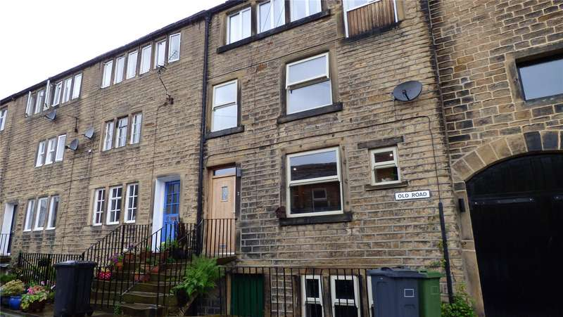 3 Bedrooms Terraced House for rent in Old Road, Holmbridge, Holmfirth, West Yorkshire, HD9