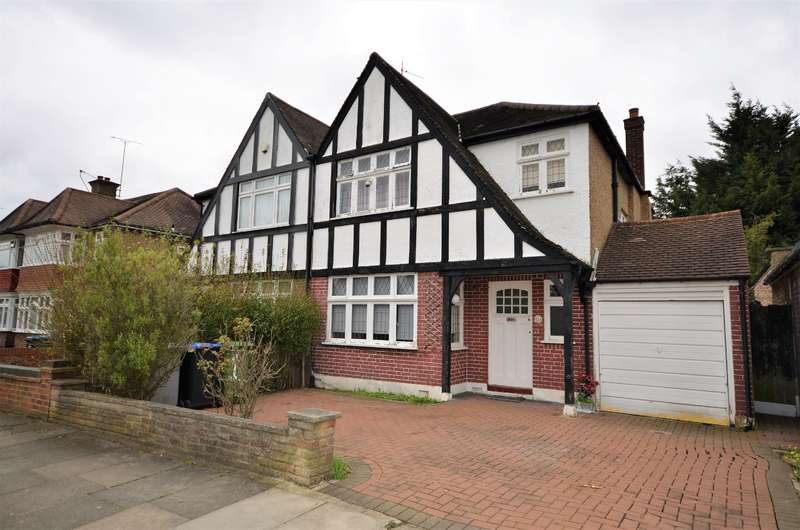 3 Bedrooms Semi Detached House for sale in Windermere Avenue, Wembley, Middlesex, HA9 8SN