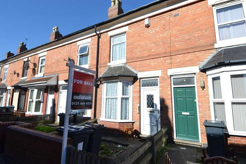 3 Bedrooms Terraced House for sale in Chesterton Avenue, Balsall Heath, Birmingham, B12