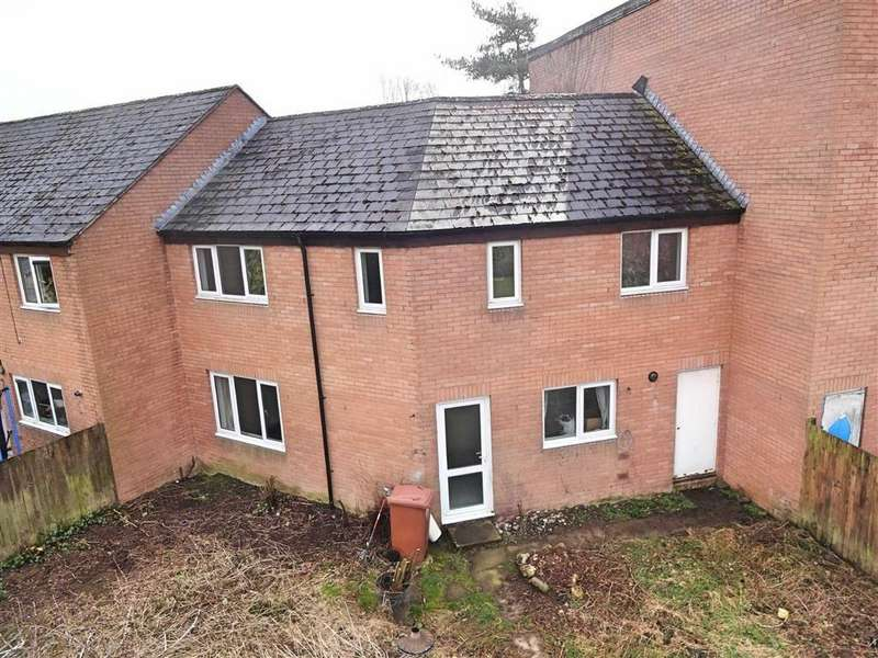 4 Bedrooms Terraced House for sale in 234, Heol Y Nant, Vaynor, Newtown, Powys, SY16