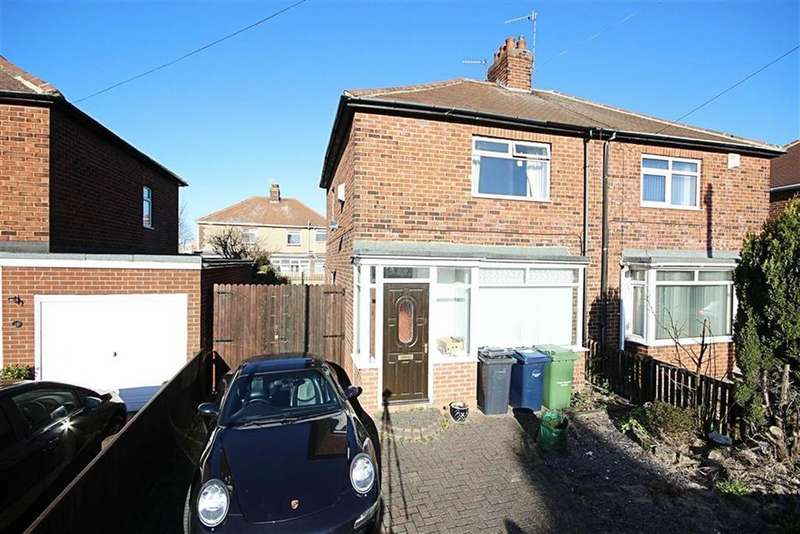 2 Bedrooms Semi Detached House for sale in Lambley Crescent, Hebburn, Tyne And Wear