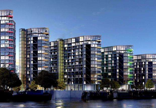 3 Bedrooms Apartment Flat for sale in Riverlight 5 Riverlight Quay, Nine Elms, SW8