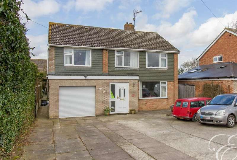 5 Bedrooms Detached House for sale in Church Road, Fordham, Colchester