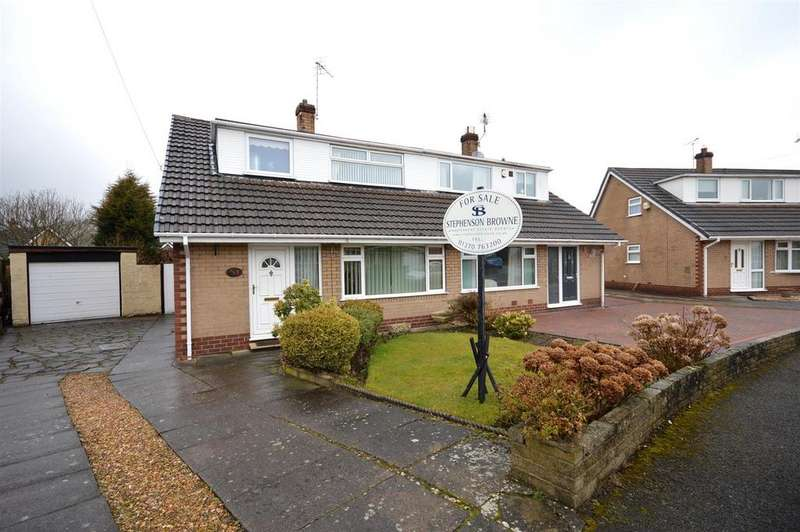 3 Bedrooms Semi Detached Bungalow for sale in Pine Grove, Sandbach