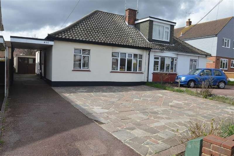 2 Bedrooms Semi Detached Bungalow for sale in Ashingdon Road, Ashingdon, Essex