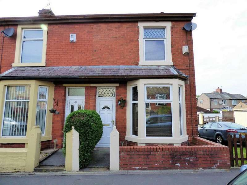 2 Bedrooms End Of Terrace House for sale in Brownhill Road, BLACKBURN, Lancashire