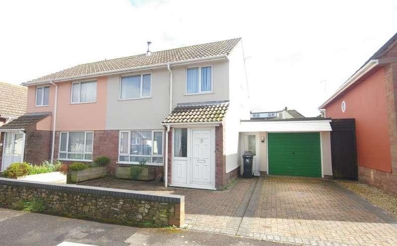 3 Bedrooms Semi Detached House for sale in Castlemead, Washford