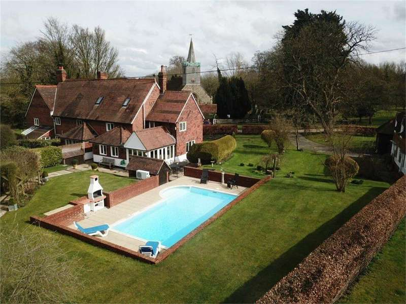 4 Bedrooms Semi Detached House for sale in Church End Cottages, Great Canfield, Dunmow