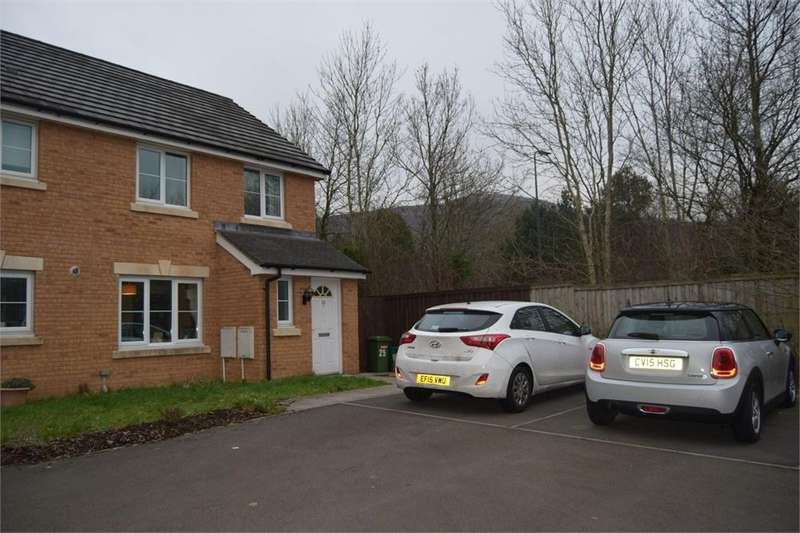 3 Bedrooms Semi Detached House for sale in Maes Ifor, Taffs Well, Cardiff, Mid Glamorgan