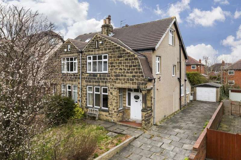 4 Bedrooms Semi Detached House for sale in BENTCLIFFE DRIVE, ROUNDHAY, LEEDS, LS17 6QX