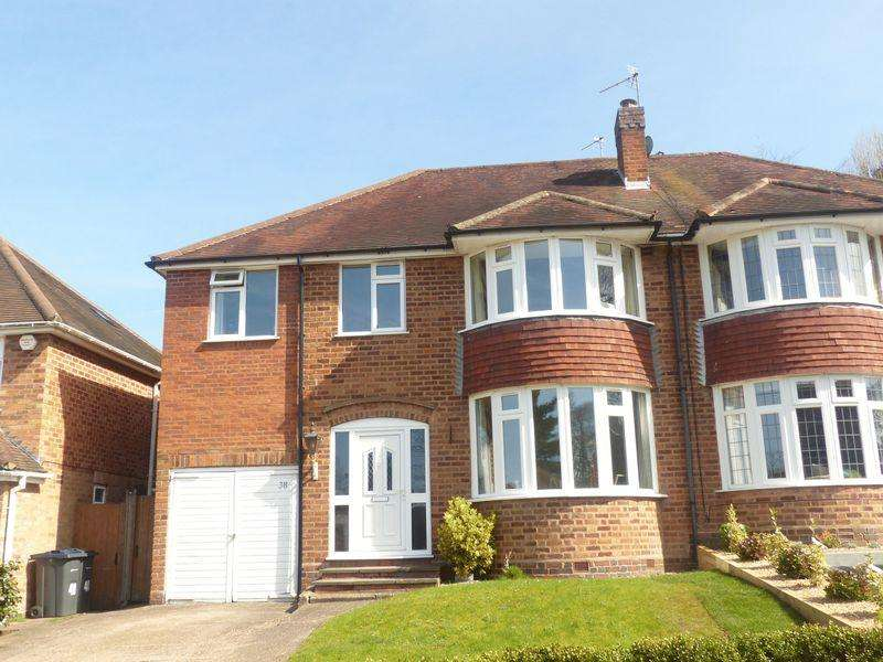 4 Bedrooms Semi Detached House for sale in Hathaway Road, Four Oaks, Sutton Coldfield