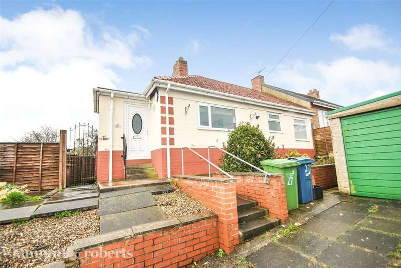 2 Bedrooms Semi Detached Bungalow for sale in York Crescent, Hetton le Hole, Tyne and Wear, DH5