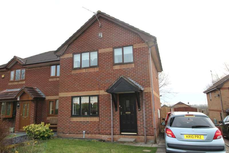 3 Bedrooms Semi Detached House for sale in Marlborough Gardens, Skelmersdale, WN8