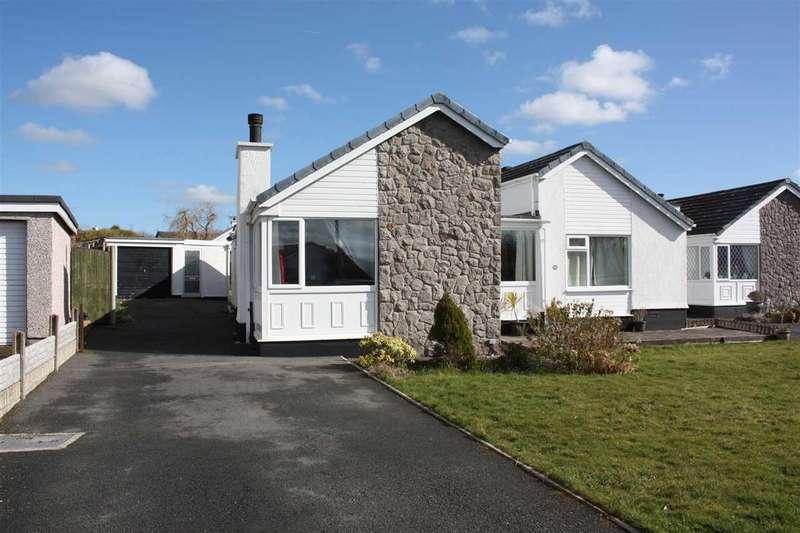 4 Bedrooms Detached Bungalow for sale in Pant Lodge, Llanfairpwll
