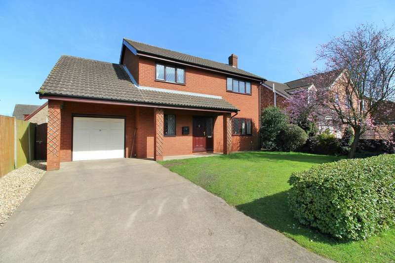 4 Bedrooms Detached House for sale in Haven Close, Blyton DN21