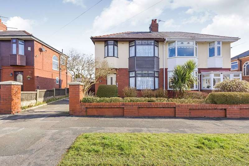 3 Bedrooms Semi Detached House for sale in Hillcrest Avenue, PRESTON, PR2