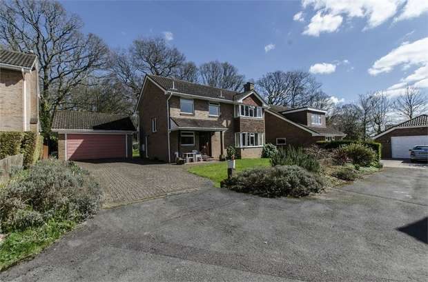4 Bedrooms Detached House for sale in Oakfields, Allbrook, EASTLEIGH, Hampshire