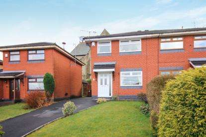 3 Bedrooms Semi Detached House for sale in St. Helier Close, Blackburn, Lancashire, ., BB2