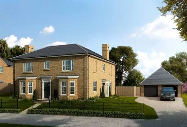 4 Bedrooms Detached House for sale in Chelmsford Road, Purleigh, Chelmsford, Essex